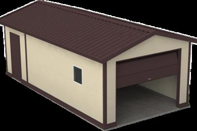 Теплые гаражи из сэндвич-панелей